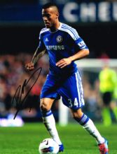 Ryan Bertrand Autograph Signed Photo - Chelsea